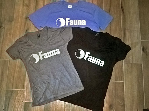 Buy Fauna t-shirts
