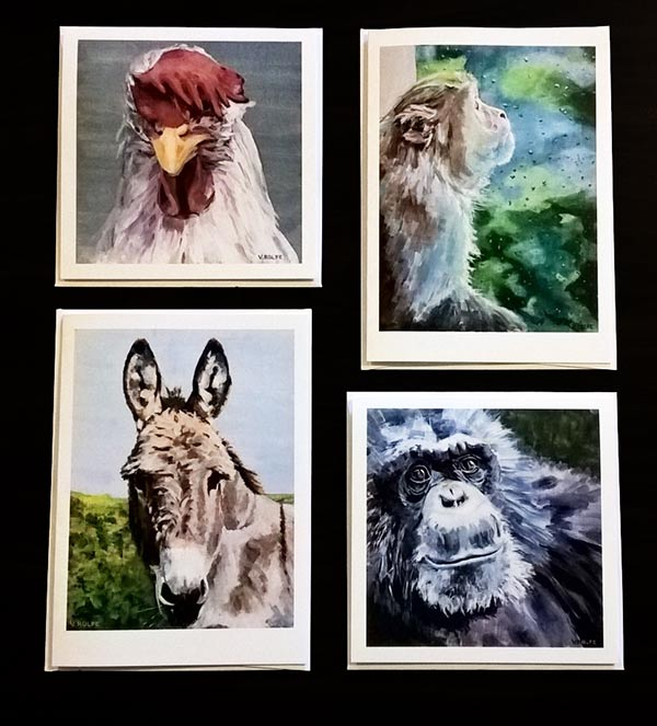 art cards at Fauna